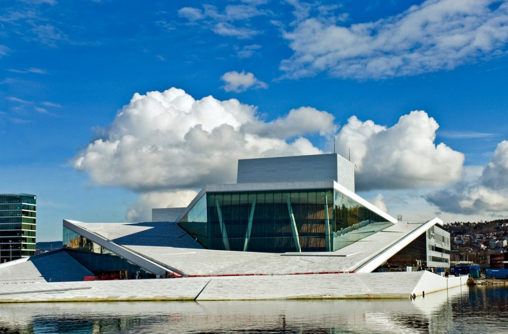 Oslo Opera udenpå – den store vidde