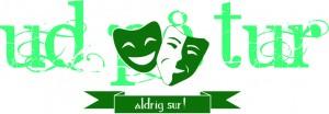 Logo green tekst bag