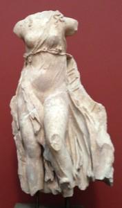 Vindgudinde -Hermione i Argolis - 400 f,kr marmor