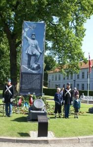 Den Tapre Landsoldat statue