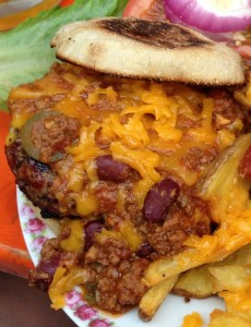 The Bird Chili Cheese Burger