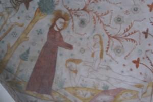 Keldby Kirke Eva Skabes