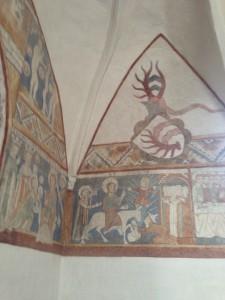 Keldby Kirke gamle kalkmalerier