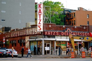 Katzs-Delicatessen ude