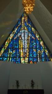 Ishavskatedralen mosaik