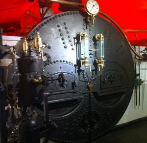 Tower Bridge maskinrum